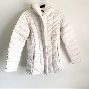 Patagonia Downtown Loft Off White Down Jacket XS